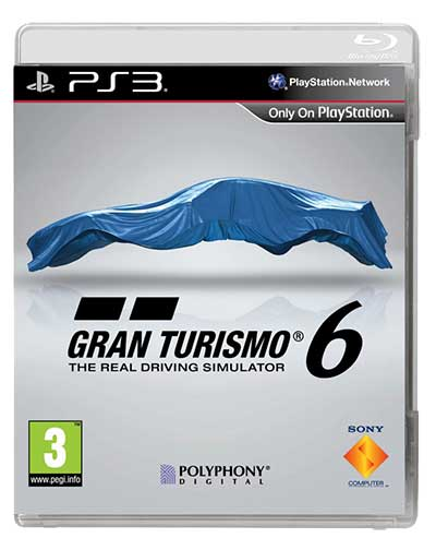 Gran Turismo 6 - Capa