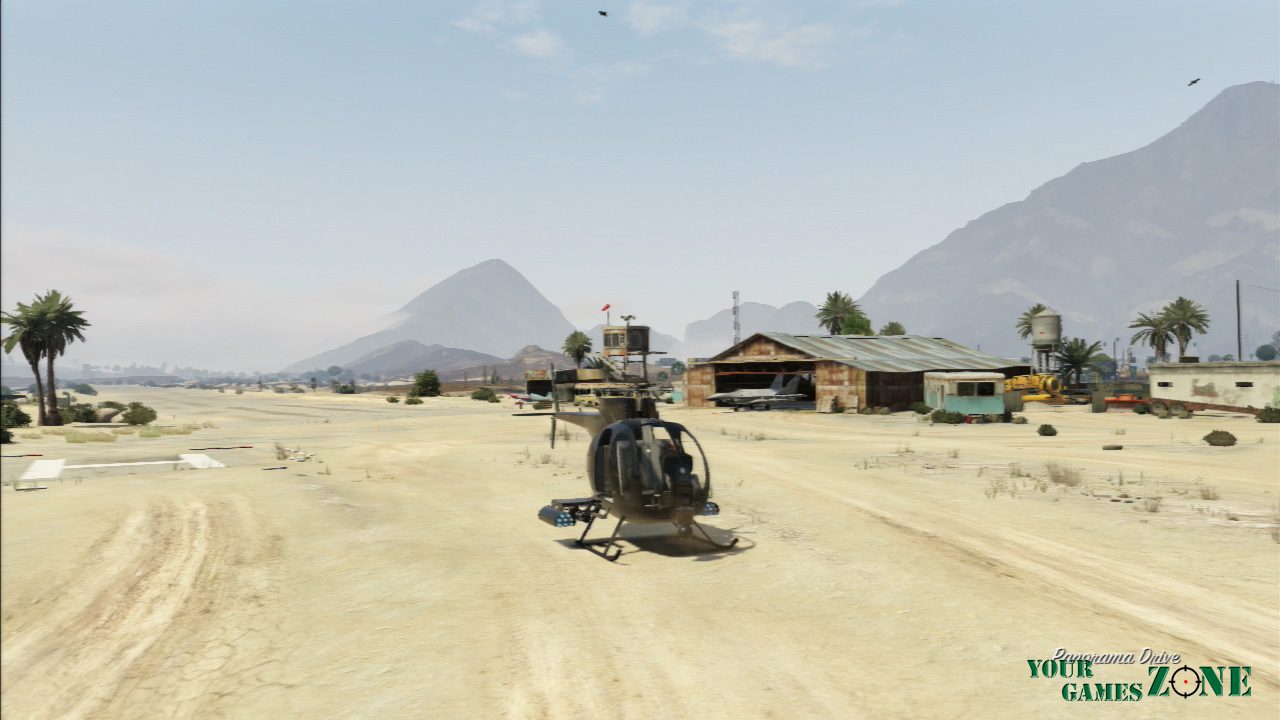 Buzzard Attack Chopper - Veículos GTA 5