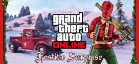 O Natal chegou ao GTA Online