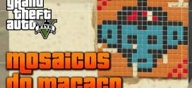 GTA V (5) Localização 50 Mosaicos do Macaco /Monkey Mosaics PS4 Xbox One e PC
