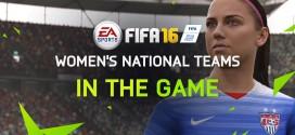 FIFA 16 vai ter equipas femininas