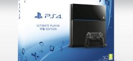 PS4 de 1TB chega em Julho