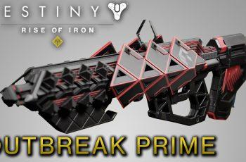 Destiny Rise of Iron – Como ganhar Surto Primordial / Outbreak Prime Pulse Rifle Exótico