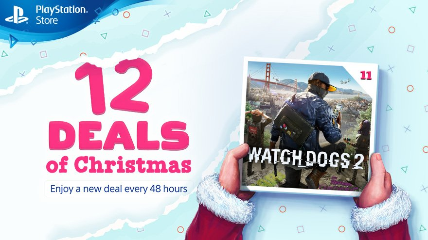watch dogs 2 promocao natal ps store