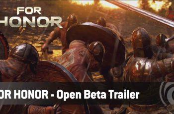 For Honor com Beta Aberta entre 9 e 12 de Fevereiro