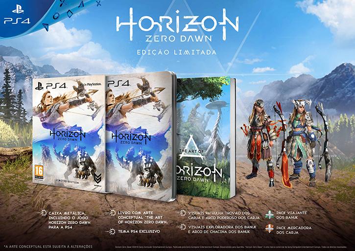 HORIZON ZERO DAWN Edição Limitada