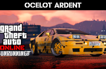 GTA Online – Ocelot Ardent e Dinheiro a Dobrar na Venda de carros