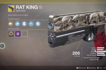 Guia Destiny 2 – Como ganhar arma exótica Rat King / Rei dos Ratos