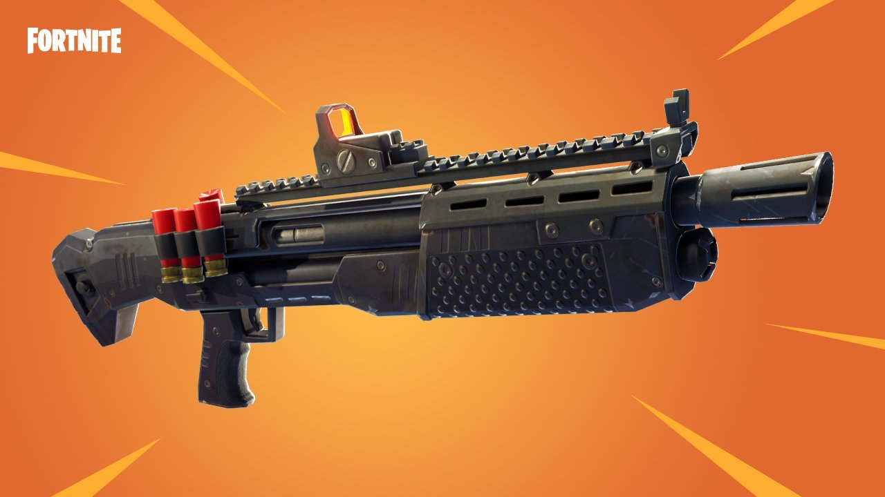 Fortnite Battle Royale recebe nova Heavy Shotgun - Your Games Zone