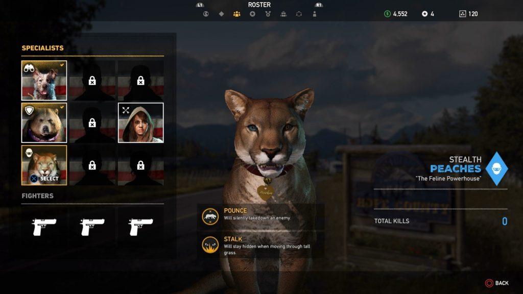 Far Cry 5 puma Peaches