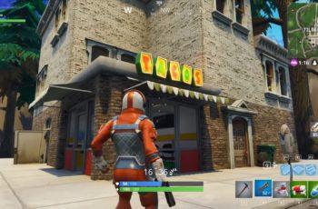 Fortnite Battle Royale Onde encontrar Lojas de Tacos / Taco Shop (Semana 8 Passe de Batalha)