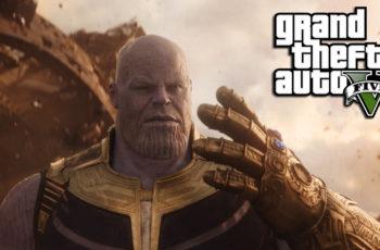 Mod para jogar com Thanos no GTA V