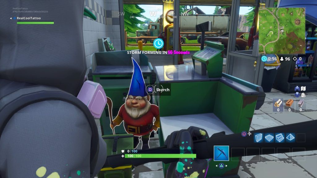 fortnite battle royale encontrar 7 gnomos famintos