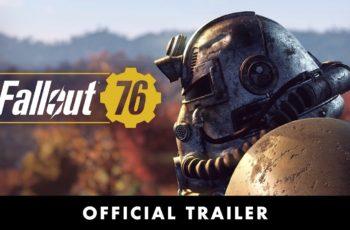 Fallout 76 já tem data de lançamento e novos trailers