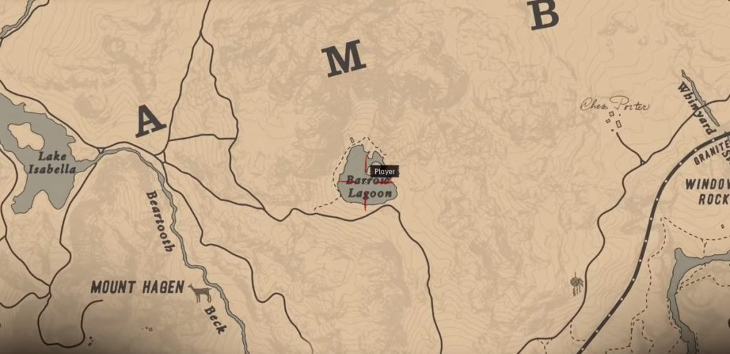 High Stakes Treasure Map Location in Red Dead Redemption 2