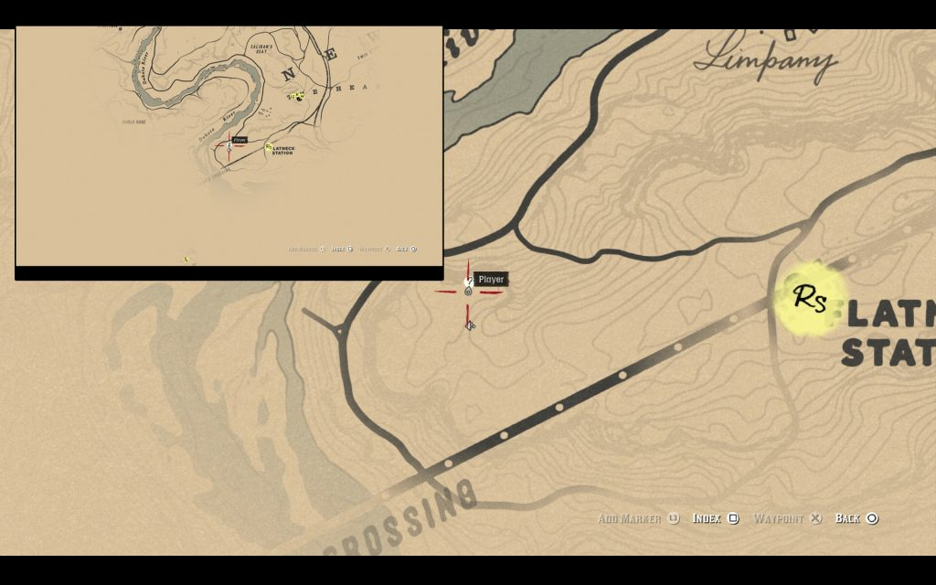 Jack Hall Gang Treasure Map Location Red Dead Redemption 2