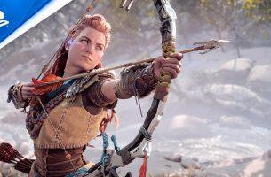 Horizon Forbiden West para PS5 recebe primeiro Trailer
