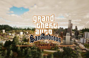 GTA San Andreas dá salto geracional com Unreal Engine 4