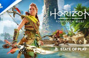 Revelado primeiro vídeo gameplay de Horizon Forbidden West